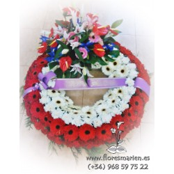 Corona Fúnebre último adiós